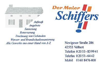 Schiffers - Der Maler