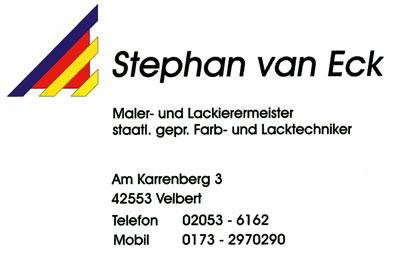 Stephan-van-Eck-Maler-und-Lackiermeister-Velbert